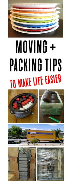Moving Tricks and Tips! HUGE list of packing ideas to make life easier for your next move!   TheFrugalGirls.com