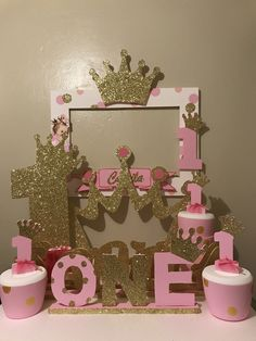 Endearing Princess Birthday Party Ideas Anyone can make 1st Birthday Party For Girls, 1st Birthday Princess, Princess Theme Party, 1st Birthday Decorations, Girl Birthday Themes, Baby Birthday, Birthday Ideas, Twins 1st Birthdays, Princess 1st Birthdays