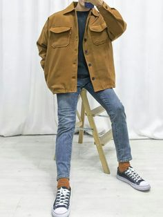 how to style outfits Korean Fashion Men, Boy Fashion, Mens Fashion, Fashion Outfits, Stylish Mens Outfits, Cool Outfits, Casual Outfits, Men Casual, Mode Masculine