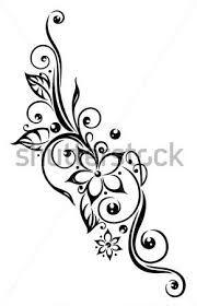 Resultado de imagen para tatuajes tribales flores