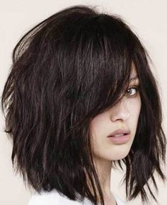 Medium Hairstyles With Bangs 20 Fabulous Long Layered Haircuts With Bangs  Pinterest  Long