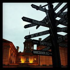 Pioneer Courthouse Square and Beyond. Living for travel and adventure.