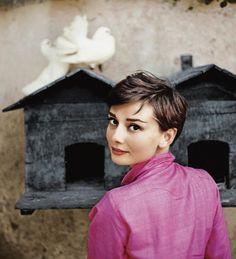 Audrey Hepburn by Phillipe Halsman