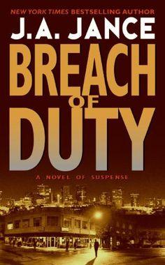Breach of Duty (J. P. Beaumont Novel) by J. A. Jance, http://www.amazon.com/dp/B000FC10XO/ref=cm_sw_r_pi_dp_-FfVtb16SSEEM