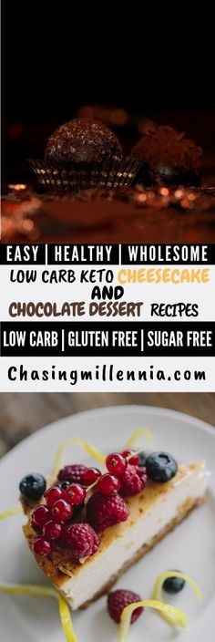 I've curated some of the best low carb dessert recipes that you are going to find. All recipes here are sugar free, gluten free & diabetic friendly. Low Carb Sweets, Low Carb Desserts, Easy Desserts, Dessert Recipes, Ketogenic Desserts, Keto Friendly Desserts, Diabetic Friendly, Ketogenic Diet, Low Carb Chocolate