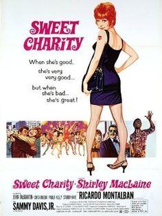 "Director Bob Fosse's ""Sweet Charity"". (1969) Fosse's directorial debut."