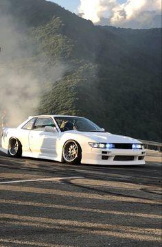 Car drift auto Nissan Silvia