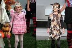 Quick and easy kids' costumes: Party-Dress Princess, Patchwork Owl