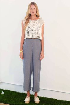 oh that shirt / Lauren Moffat Spring 2013 RTW Collection - Fashion on TheCut