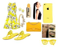 """""""all about yellow"""" by kaylahtoocute4u ❤ liked on Polyvore"""