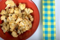 Cauliflower popcorn - Recipe by Julie Daniluk