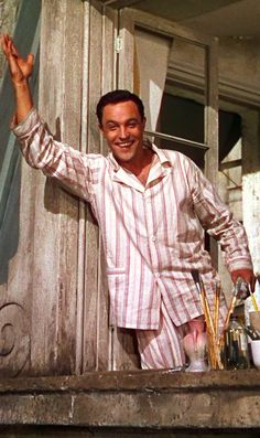 Gene Kelly - Dancer, Actor, Singer, Choreographer and known to be a dedicated proffesional.