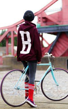#chick #bike