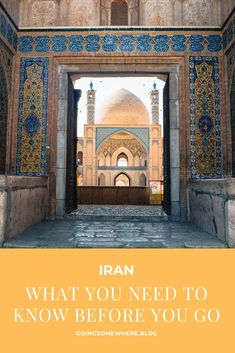 Iran: what you need to know before you go - Going Somewhere Iran Travel, China Travel, Bali Travel, Tokyo Japan Travel, Japan Travel Tips, Amazing Destinations, Travel Destinations, Travel Around The World, Around The Worlds