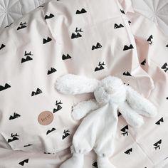 ferm LIVING Rose rabbit bedding: http://www.fermliving.com/webshop/shop/organic-products/rose-rabbit-bedding-baby.aspx