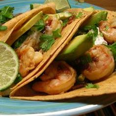Chipotle Shrimp Tacos - http://tacorecipes.healthandfitnessjournals.com