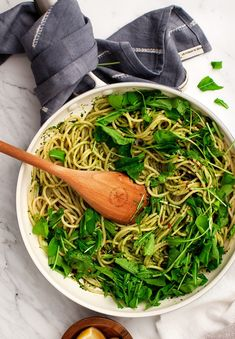 Easy Vegan Pesto Pasta Is A Delicious, Healthy, And Satisfying Weeknight Dinner. With Under 10 Ingredients, This Recipe Is Flexible And Takes Minutes To Make. Love And Lemons Pasta Dinner Recipes, Easy Pasta Recipes, Basil Recipes, Vegan Pesto Pasta, Basil Pesto, Vegetarian Spaghetti, Food Styling, Roasted Vegetable Pasta, Quick Easy Vegan