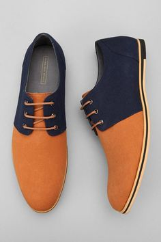 The Best Men's Shoes And Footwear :   DANG..sorry I missed out on this  one… SHOE-gasm…FAIL…….Urban Outfitters Hawkings McGill Preston Canvas Oxford    - #Men'sshoes