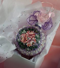 Christmas Ornament Hand Painted by LaivaArt on Etsy