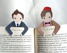 Mark Your Page With Your Favorite Characters: these, are awesome. And Dr. Who isn't the only fandom style bookmarks on the page. Awesome!