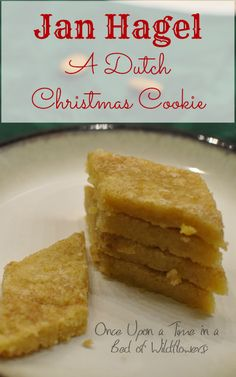 Looking for a quick, delicious holiday treat? Try the traditional Dutch Christma. - Looking for a quick, delicious holiday treat? Try the traditional Dutch Christmas Cookie Jan Hagel! Holiday Treats, Christmas Treats, Holiday Cookies, Holiday Recipes, Party Treats, Holiday Baking, Christmas Baking, Dutch Desserts, Dutch Cookies