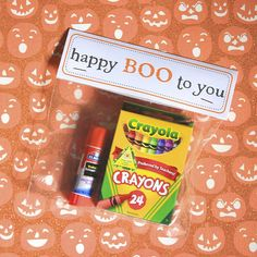 Halloween Gift Bag for students