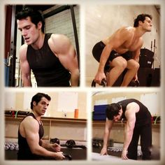 Henry Cavill training under Mark Twight's instruction for Man of Steel (5 of 5)