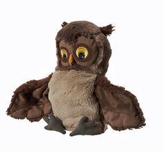 Ikea Owl Vandring Uggla Hand Play Glove Puppet Bird Animal Childrens Soft Toy
