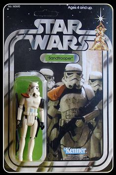 """The Fearsome Trooper sent to Tatooine to capture and masterfully sculpted in the old loved """"vintage"""" style to enhance your Kenner Star Wars col Pauldron, Old Love, Star Wars Collection, Studio S, The Twenties, Action Figures, Old Things, Miniatures, Superhero"""