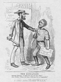 HarpWeek | Abraham Lincoln Cartoons