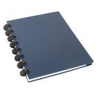 M by Staples ARC Notizbuch Poly A5 liniert 60Blatt, Blau