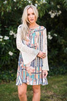 Paisley Delight Dress
