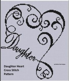 Family Heart 2 Cross Stitch Pattern | Craftsy