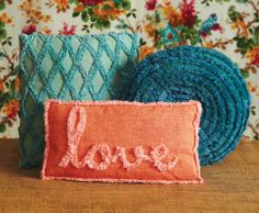 Stitch up unique pillows, get the templates now and find all the instructions in Sew News Feb/March issue