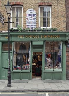 The Vintage Showroom: Early British men's workwear—artfully faded denim overalls; leather jacket, Fair Isle sweaters.  thevintageshowroom.com