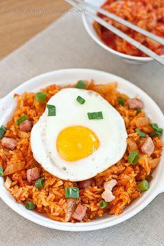 Kimchi and Gammon Fried Rice