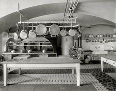 White House Kitchen, 1910