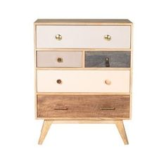 Oliver Bonas Keira Wooden Chest of Drawers