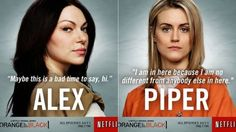 Also, Laura Prepon originally auditioned for the role of Piper.