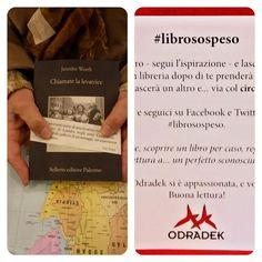 In libreria si sospende che è un piacere, avanti #librosospeso! @sellerioeditore