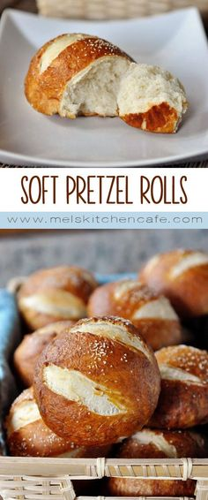 These soft pretzel rolls are amazing, perfectly puffed and wonderfully salty and chewy.