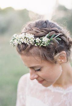 Brides: Braided Wedding Hairstyles