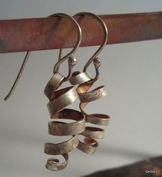 Whirlwind by Gecko J, via Flickr- Ooh! I really like these earrings for DIY- they look simple enough if you have the tools