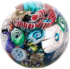 Art Glass Paperweights by Michael Egan