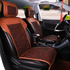 c2e65b265544 Interior Accessories · Natural wood beads comfortable breathable car  cushion for BMW 1series F20 F21 114i 116i 118i 120