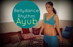 Free belly dance classes: Belly dance rhythms: The rhythm Ayub