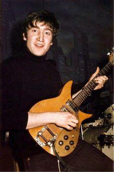 John at the Star Club, Hamburg 1962.
