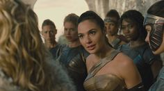 "Amazon princess Diana and Amazon warriors, from ""Wonder Woman"" 2017"