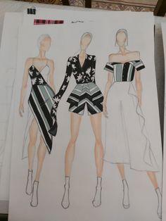Fashion Design Books, Fashion Design Sketchbook, Fashion Design Portfolio, Fashion Sketches, Fashion Illustration Poses, Dress Illustration, Fashion Model Drawing, Fashion Drawing Dresses, Dress Design Drawing