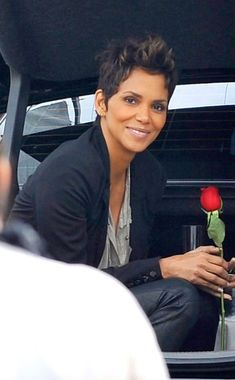 Halle Berry Always loved her hair